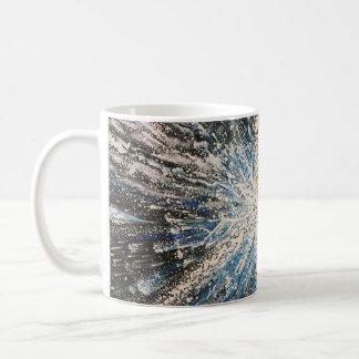 Bright Black Star Mug