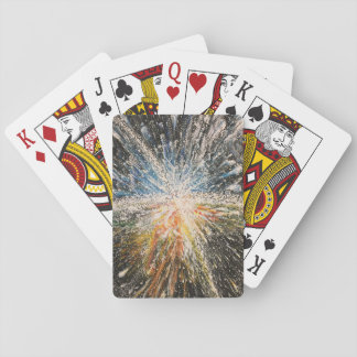 Bright Black Star Playing Cards