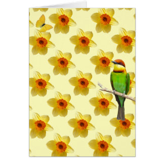 Bright Blank Note Card with envelope