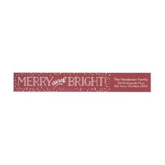 Bright Blizzard | Return Address Wrap Labels