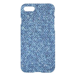 Bright Blue Denim iPhone 7 Case