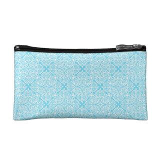 Bright Blue Dream root Cosmetic Bag