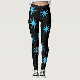 Bright & Blue Leggings