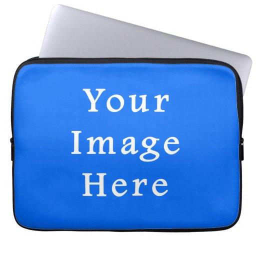 Bright Blue Medium Hanukkah Chanukah Hanukah Laptop Computer Sleeve
