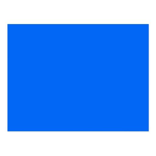 Bright Blue Medium Hanukkah Chanukah Hanukah Postcard