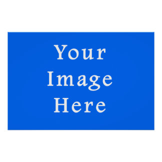 Bright Blue Medium Hanukkah Chanukah Hanukah Poster