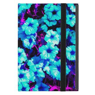 Bright Blue Petunias iPad Mini Cover