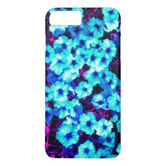 Bright Blue Petunias iPhone 8 Plus/7 Plus Case