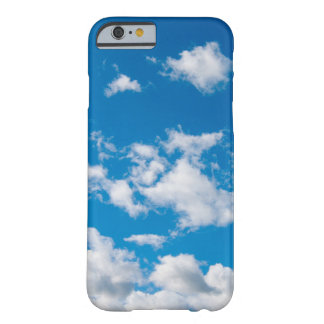 Bright Blue Sky Barely There iPhone 6 Case