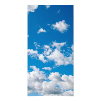 Bright Blue Sky Picture Card