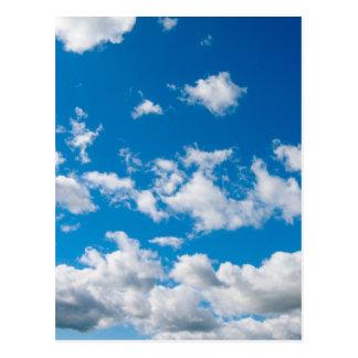 Bright Blue Sky Postcard