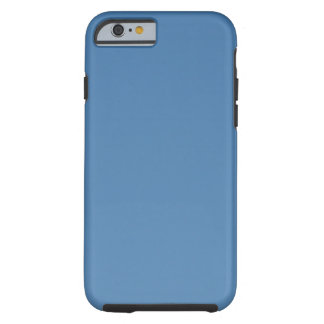 Bright Blue Sky Without Clouds Tough iPhone 6 Case