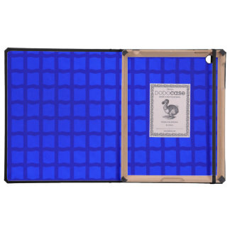 Bright Blue Tiles Case For iPad