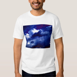 Bright Blue&White Cumulus congestus Surrounded By Shirts