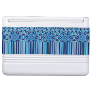 Bright Bohemian Boho Hippy Chic Pattern Cooler