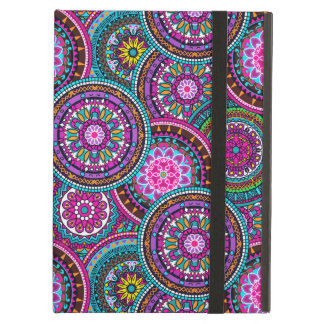 Bright Bohemian Boho Hippy Chic Pattern iPad Air Cover
