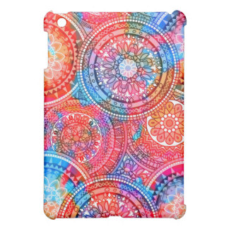 Bright Bohemian Boho Hippy Chic Pattern iPad Mini Cases