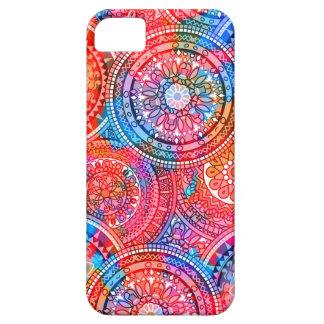 Bright Bohemian Boho Hippy Chic Pattern iPhone 5 Case