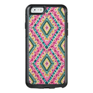 Bright Boho Colorful abstract tribal pattern OtterBox iPhone 6/6s Case