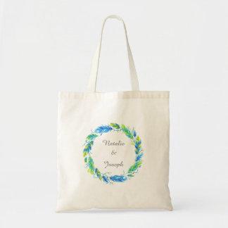 Bright Boho | Modern Wedding Tote Bag