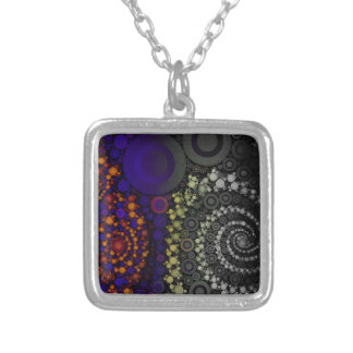 Bright Bold Abstract Personalized Necklace