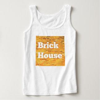 Bright Brick House Singlet