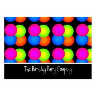 Bright Bubbles Party Company Business Card