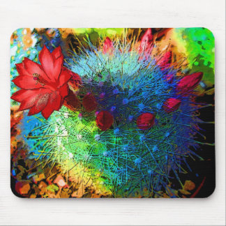 Bright Cactus Mouse Pad