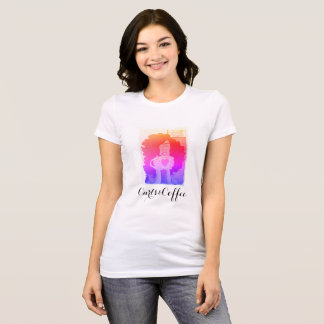 Bright Cali Feel- Curls&Coffee T-Shirt