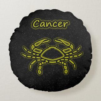 Bright Cancer Round Cushion