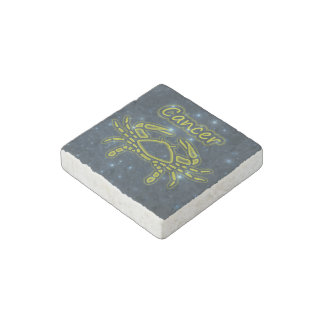Bright Cancer Stone Magnet
