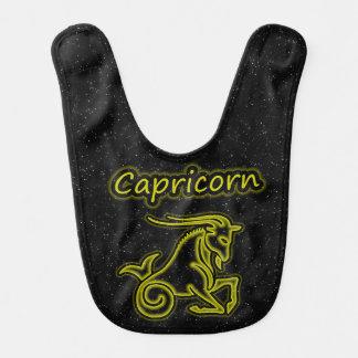 Bright Capricorn Baby Bibs