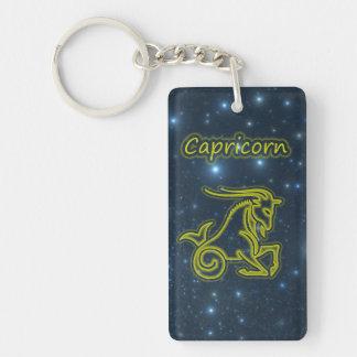 Bright Capricorn Key Ring