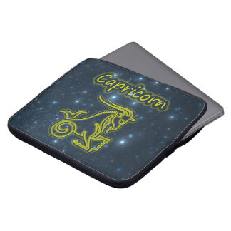 Bright Capricorn Laptop Sleeve