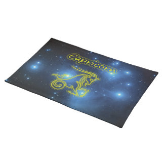 Bright Capricorn Placemat