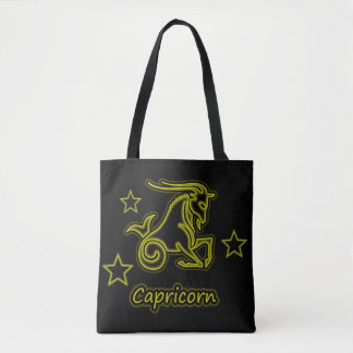 Bright Capricorn Tote Bag