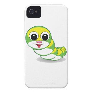 bright caterpillar worm Case-Mate iPhone 4 case