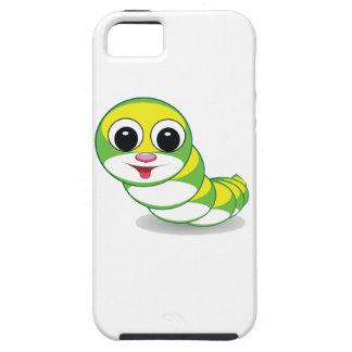 bright caterpillar worm iPhone 5 cases