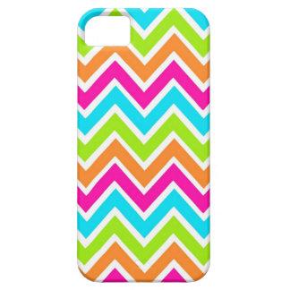 Bright Chevron Designer Zig Zag Pattern iPhone 5 Case