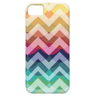 Bright Chevron Scallop Summer Pattern iPhone 5 iPhone 5 Case