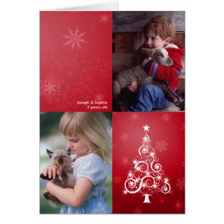 Bright Christmas Folded Photo Card