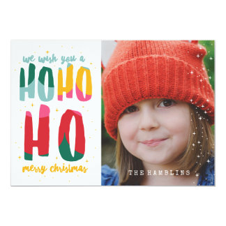 BRIGHT CHRISTMAS INVITATION CARD