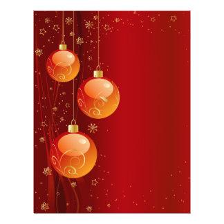 Bright Christmas ornaments 21.5 Cm X 28 Cm Flyer