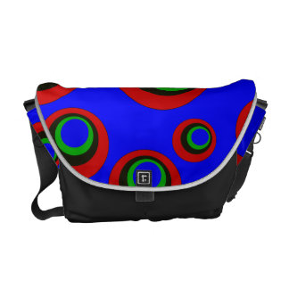 Bright Circles Courier Bags