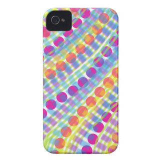 Bright Circles Lines Squares Blackberry Case