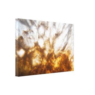 Bright Citrine Crystal Canvas Print