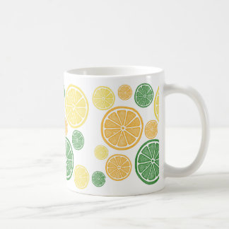 Bright Citrus Slice Mug