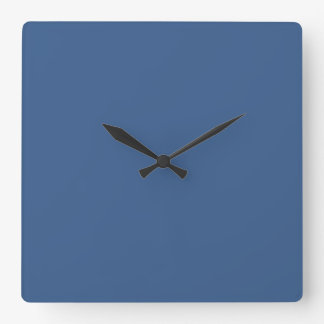 Bright Cobalt Wallclocks