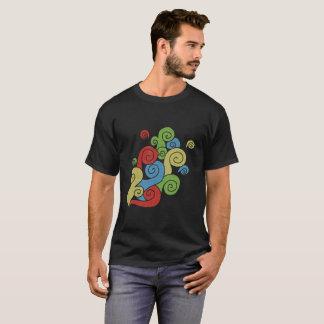 Bright Color Swirls T-Shirt