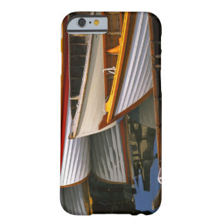 Bright colored boats at the Wooden Boat Center Barely There iPhone 6 Case